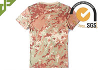 100% Cotton Camouflage Camo Air Force T Shirts , Police Department T Shirts