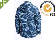 Soft Shell Military Tactical Jackets 100% Polyester With Loop Knitting For Autumn
