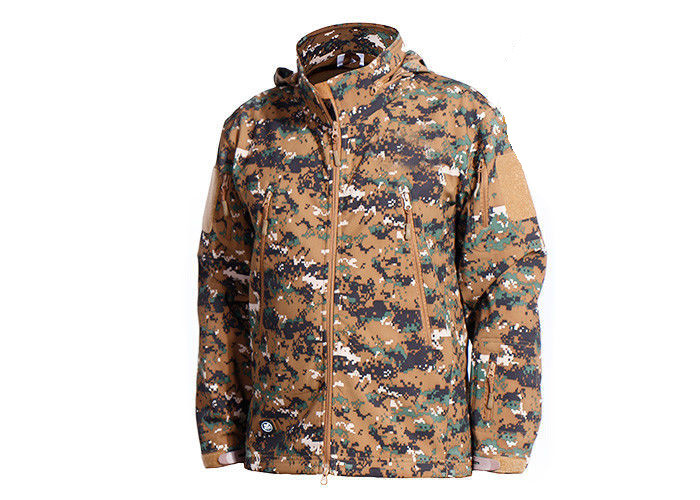 Woodalnd Tactical Camo Jacket Cold - Proof For Outdoor Fishing Military Style