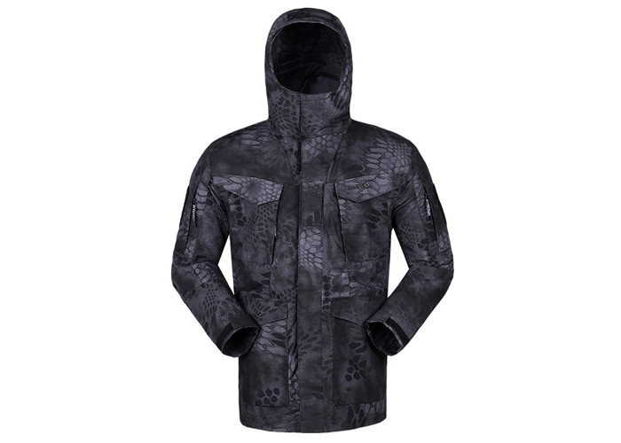 2019 Windproof OEM Military Supplies Black Python Tactical Jacket Wholesale Camo Jackets